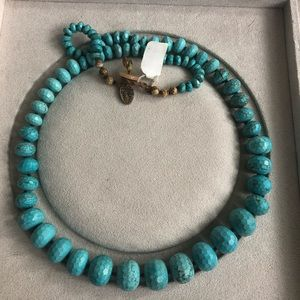 New with tags Chan Luu turquoise necklace